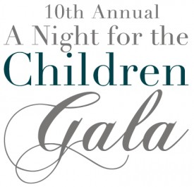 "10th Annual ""A Night for the Children"" Gala @ McCrady's Restaurant 