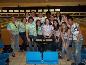The Bowl for Kids' Sake team from American Eagle Outfitters